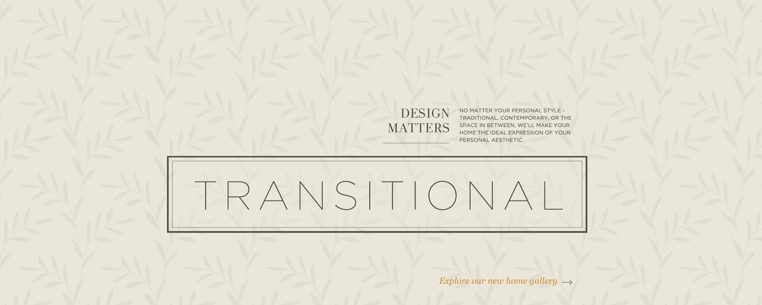 Design Matters - Transitional